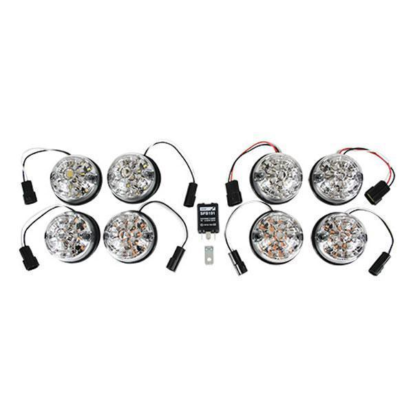 spectre defender clear lens led light kit