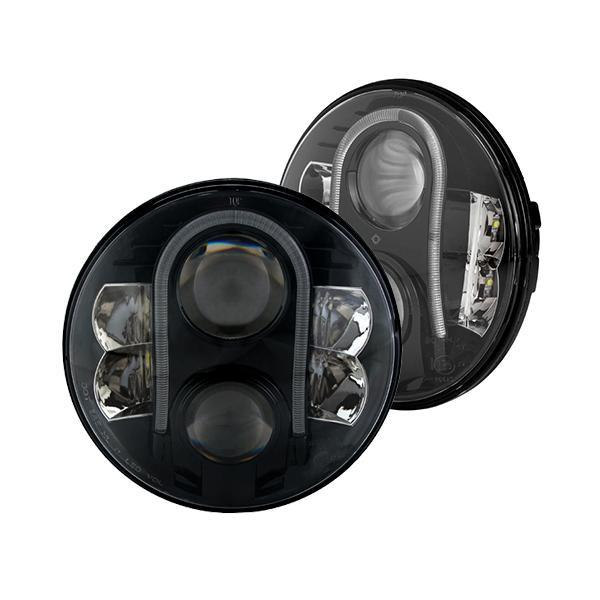 Land Rover Defender Lynx LED Headlights With DRL