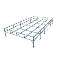 Galvanized Roof Rack (Flat Pack) suitable for Series and Defender 110 Vehicles