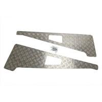 3mm Aluminium Wing Top Chequer Plate suitable for Defender vehicles