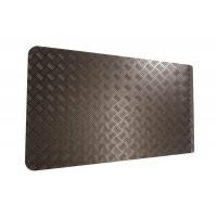 3mm Black Bonnet Chequer Plate suitable for Non Puma Defender vehicles