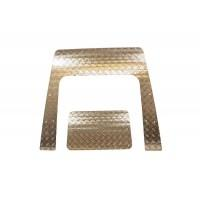 3mm Aluminium Bonnet Chequer Plate suitable for Puma Defender vehicles