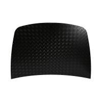 2mm Black Bonnet Chequer Plate Protector suitable for Discovery 2 vehicles