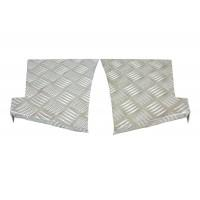 3mm Silver Rear Wing Chequer Plate suitable for Defender 90 vehicles