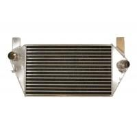 High performance uprated replacement intercooler from AlliSport Ltd using Louvered Internal Fin Technology core