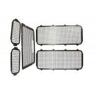 Exterior Window Grille Kit with High Level Brake Light