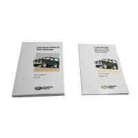 Optional Equipment Catalogue And Normal Parts Catalogue. Suitable for Series 3 Land Rover Vehicles