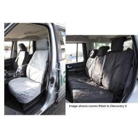 Rear Grey Seat Covers