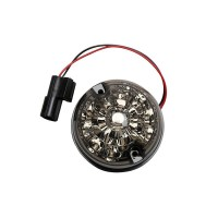 Smoked LED Indiacator Light 73mm