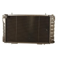 Radiator Assembly Heavy Duty 2 Row Suitable for Defendere 110 V8 Without Oil Cooler Vehicles