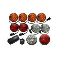 Land Rover Defender LED Wipac Deluxe Colour Upgrade Lamp Light Kit