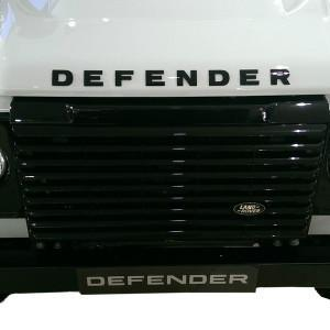genuine land rover black defender bonnet lettering. Black Bedroom Furniture Sets. Home Design Ideas