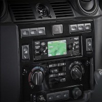 Land Rover Classic Infotainment System- Black