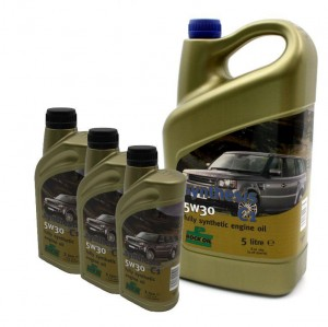 8 Litres of 5W-30 Engine Oil