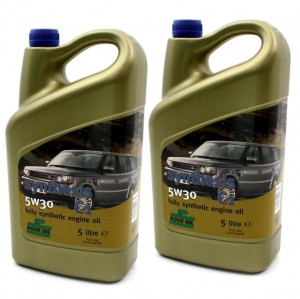 10 Litres of 5W-30 Engine Oil