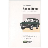Parts Catalogue 1992 - 1994