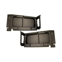 Land Rover Defender 90 Rear Window Surround Trim Kit (without Window Cut-out)