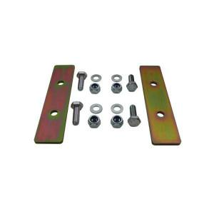 Rear coil spring retaining plates (110/130)