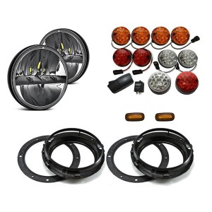 Land Rover Defender Lite LED Light Package - Colour Full