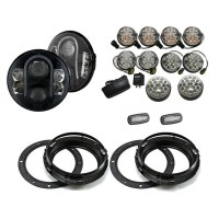Land Rover Defender LYNX LED Light Package - Clear Full (RHD/LHD)