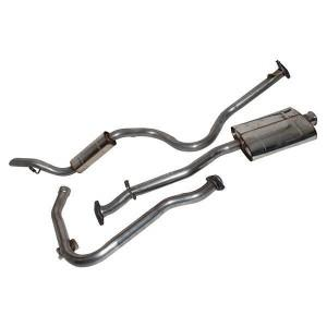 Stainless Steel Exhaust System - Defender 110 200TDI