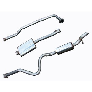 Stainless Steel Exhaust System - Defender 110 300TDI