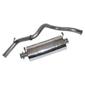 Stainless Steel Exhaust System - Defender 90 300TDI from TA99922