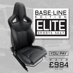 Land Rover Defender Elite Sports Seat Base Line Edition