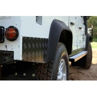 Land Rover Defender 90 (1983-2016) Sill Protector / Black