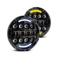Land Rover Defender LED Juwel v2.0 Headlights with Switchback