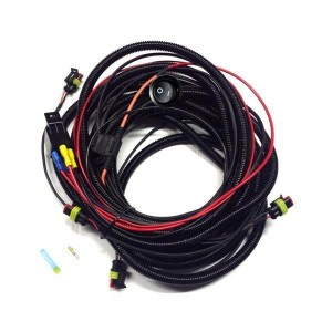 Lazer Four-lamp Harness Kit With Switch (ST / T-2 / Triple-R)