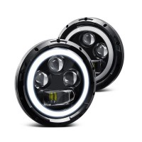 Land Rover Defender LED Headlights with Switchback Halo