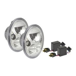 Vision X 7″ Vortex Defender LED Headlights (E-Marked) Chrome